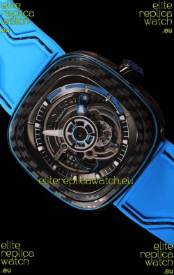 Seven Friday S3/02 Carbon Edition with Original Miyota Movement - 1:1 Mirror Quality
