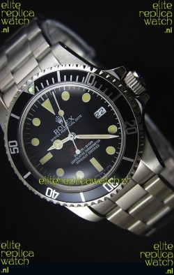 Rolex Sea Dweller Double Red 1665 Vintage Edition Japanese Movement Watch