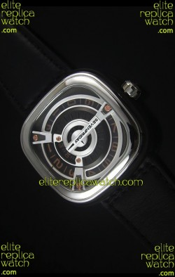 SevenFriday M2-2 Stainless Steel Watch with Miyota 8215 Movement