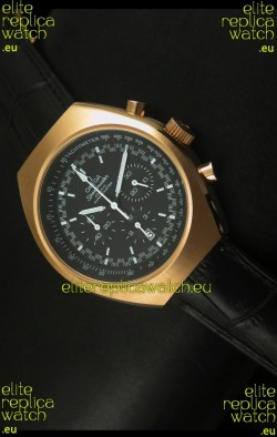 Omega Speedmaster MARK II Co-Axial Chronograph Rose Gold Case