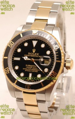Rolex Submariner Two Tone Japanese Replica Watch