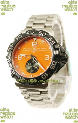 Tag Heuer Professional Formula 1 Japanese Replica Watch in Orange Dial