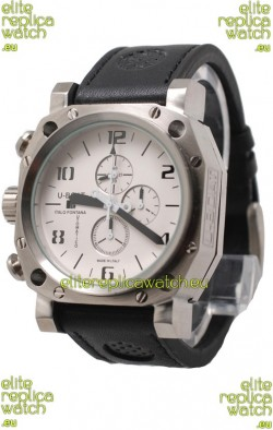 U-Boat Thousand of Feet Japanese Replica Watch in White Dial