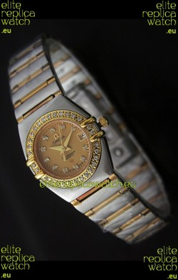 Omega Constellation Ladies Watch in Rose Gold