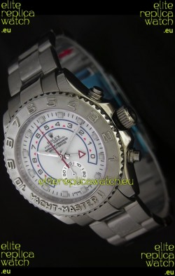 Rolex Yachtmaster II Japanese Replica Watch in White Dial