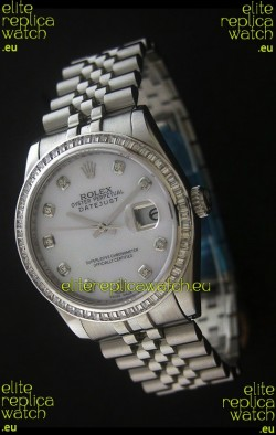 Rolex Datejust JapaneseReplica Automatic Watch in White Dial