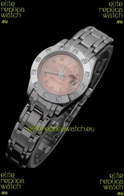 Rolex Datejust Ladies Japanese Replica Ladies Watch in Champagne Dial