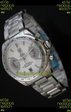 Tag Heuer Grand Carrera Calibre 17 Japanese Ladies Watch in White