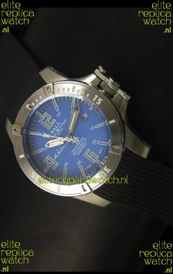 Ball Hydrocarbon Spacemaster Automatic Rubber Strap in Blue Dial - Original Citizen Movement