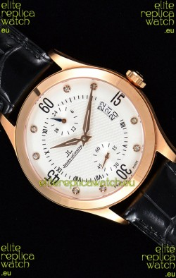 Jaeger LeCoultre Master Control Rose Gold Swiss Replica Watch