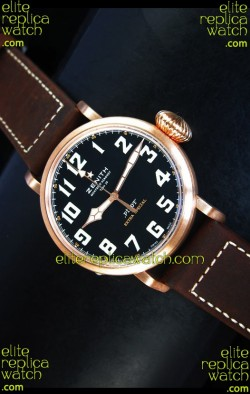 Zenith Pilot Type 20 Extra Special Edition Yellow Gold Swiss 1:1 Mirror Replica Watch