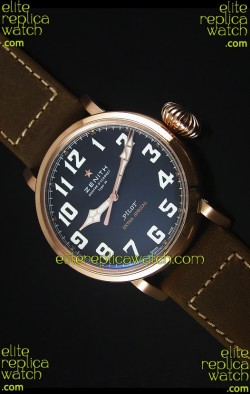 Zenith Pilot Type 20 Extra Special Edition Rose Gold Swiss 1:1 Mirror Replica Watch