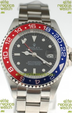 Rolex GMT Masters II 2011 Edition Replica Blue and Red Ceramic Bezel Watch