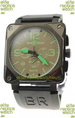 Bell and Ross BR01-94 Edition Japanese PVD Watch