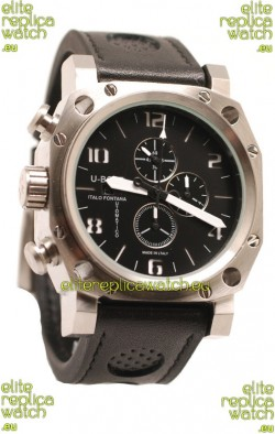 U-Boat Thousand of Feet Japanese Replica Watch in Black Dial
