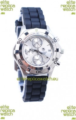 Tag Heuer Aquaracer Quartz Japanese Watch in Rubber Strap