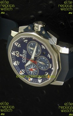 Corum Admiral's Cup Challenge Swiss Replica Watch in Blue Dial