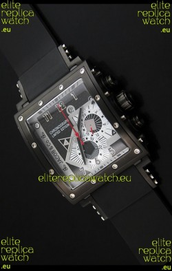 Jacob and Co. Manhattan Watch in Steel Case