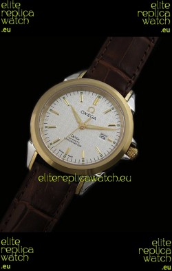 Omega Deville Escapement Mechanical Watch in White Dial