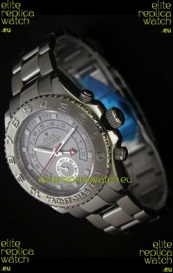 Rolex Yachtmaster II Japanese Replica Watch Silver Dial