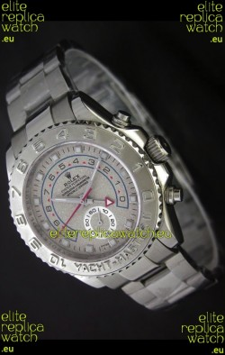 Rolex Yachtmaster II Japanese Replica Watch in Sand Grey Dial