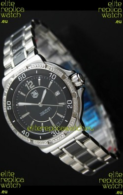 Tag Heuer Formula 1Japanese Watch in Black Dial