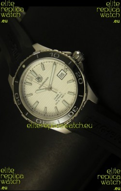 Tag Heuer Aquaracer Calibre 5 White Dial Swiss Watch - 1:1 Mirror Edition