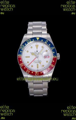 Rolex GMT Master Vintage Edition Swiss Replica Watch in White Dial